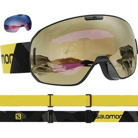 Salomon S/Max Sigma Gafas, negro/amarillo